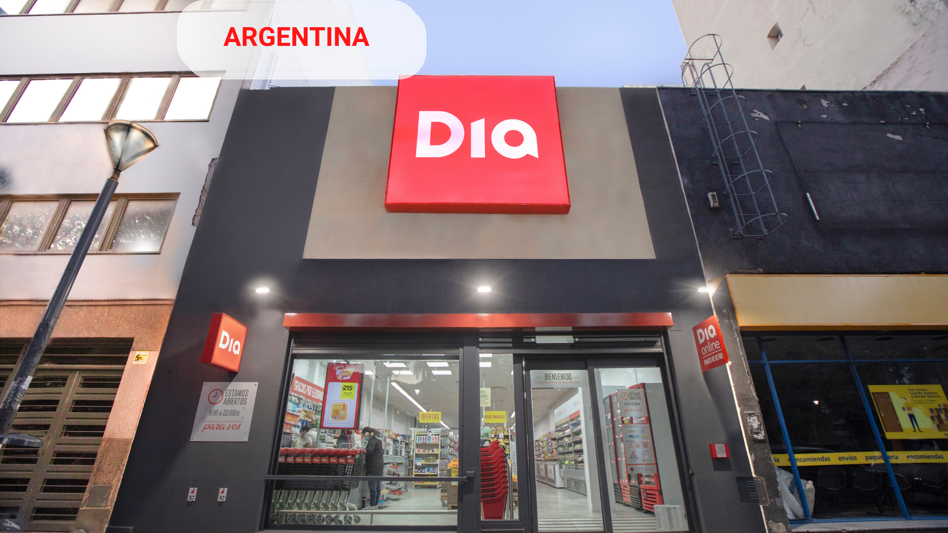 DIA will invest more than USD 100 million over the next three years in its plans for Argentina